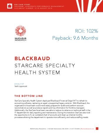 Image of StarCare Specialty Health System case study