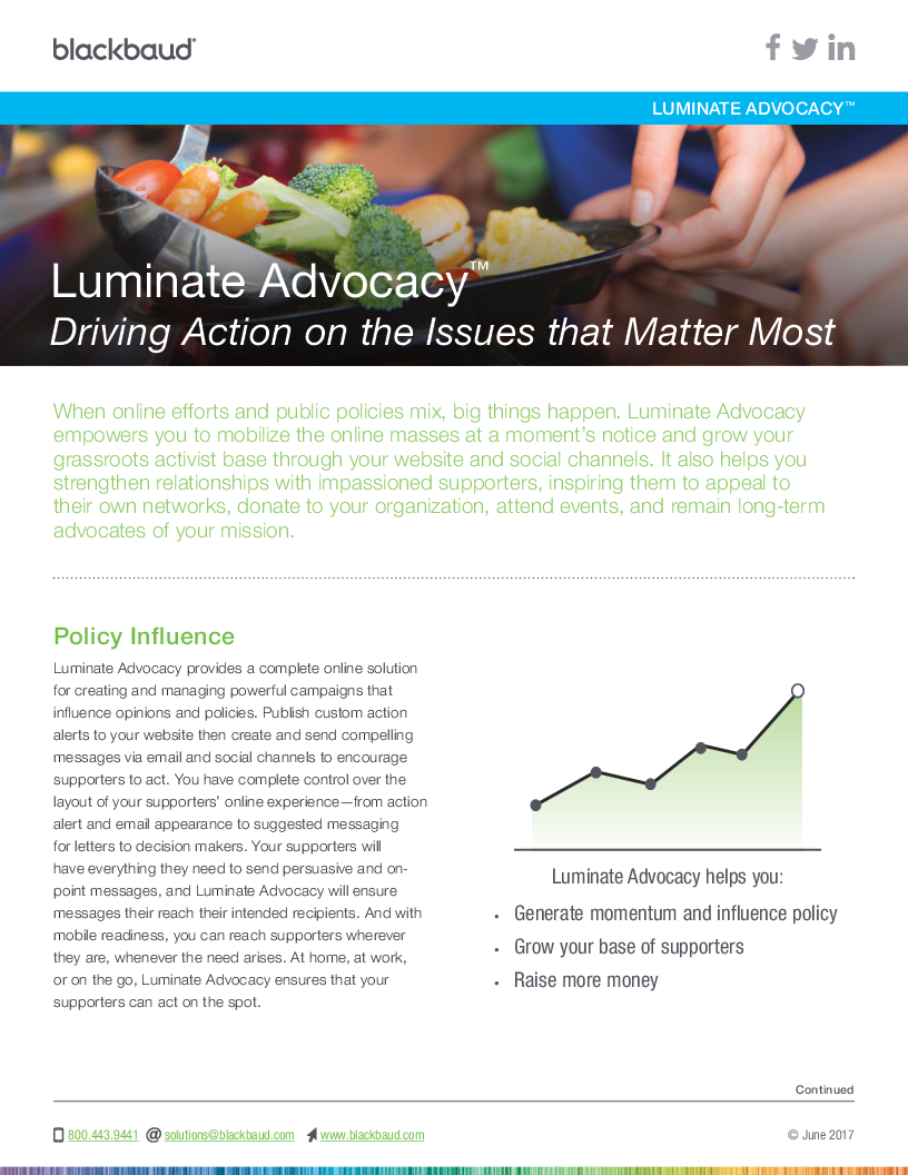 LuminateAdvocacy_Datasheet