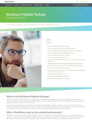 Blackbaud-Website-Package-FAQs
