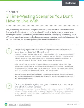 Image for the Three Time Wasting Scenarios You Don't Have to Live With tipsheet