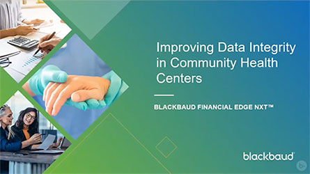 Image of the video Improving Data Integrity in Community Health Centers