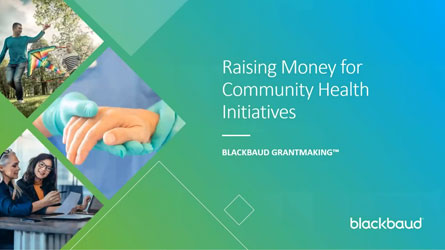 thumbnail image of the Raising Money for Community Initiatives video