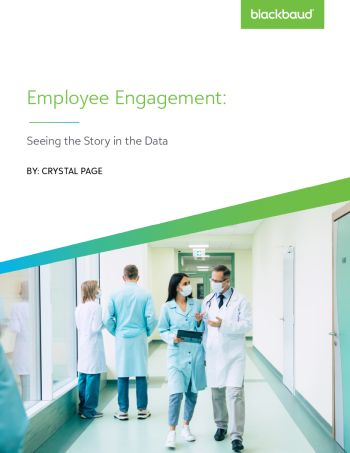 Image of white paper Employee Engagement Data Tells the Story