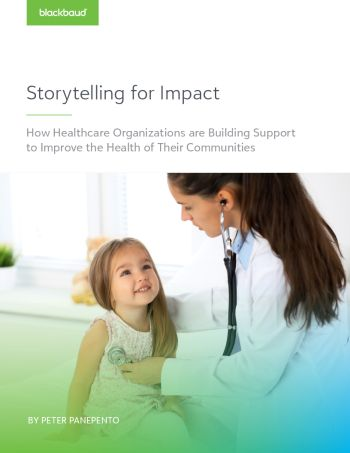 image of white paper Storytelling for Impact