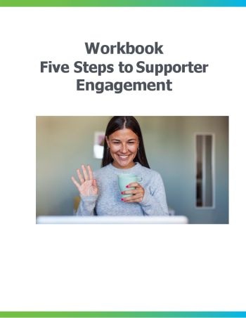 image of the Five Steps to Supporter Engagement workbook