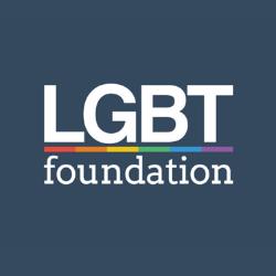 LGBT Foundation charity logo