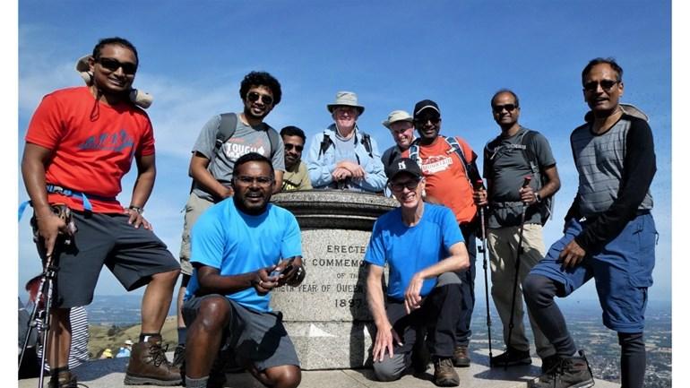 Everest team challenge